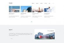 html5大气的企业管理业务咨询网站模板
