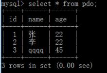MySQL的预处理是什么,为什么要进行预处理