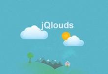jQlouds插件-在网页中轻松创建云彩飘动效果