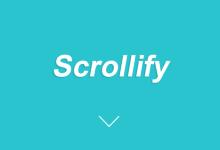 jQuery全屏滚动插件-Scrollify