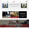 响应式农业绿色生态行业网站模板