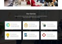 Bootstrap响应式红黑色系公司企业网站网站模板