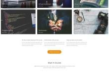 html5响应式教育类网站模板