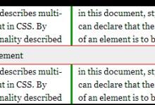 CSS3多列Multi-column的使用