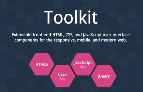内置的UI组件最多的前端框架Toolkit -1