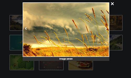 图片点击放大插件simple gallery -1