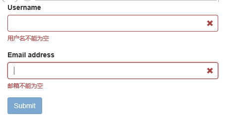 Bootstrap Validator表单验证插件 -2