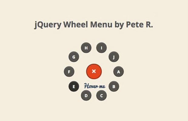 圆形导航菜单轮插件- jquery.wheelmenu.js -1