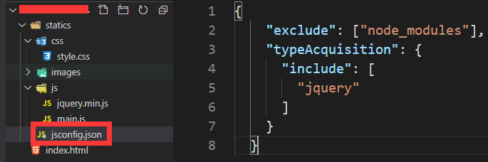 vscode编辑器增加jquery代码提示