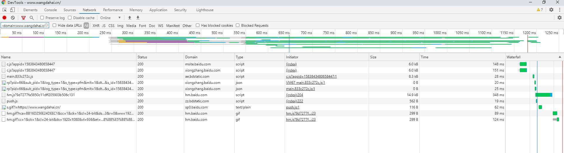 DevTools 请求数据之高级筛选 -3